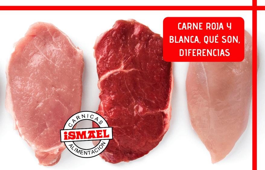 diferencias Carne roja y blanca