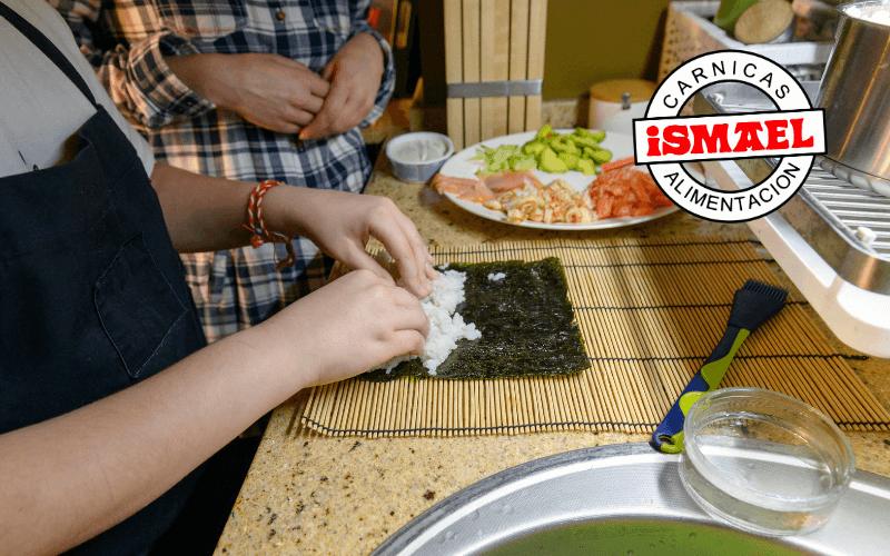 regalo para amante cocina kit sushi