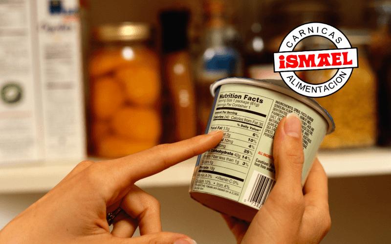 aditivos de los ingredientes