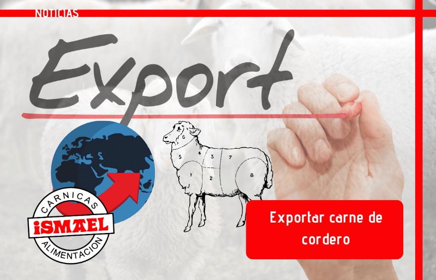 Exportar carne de cordero
