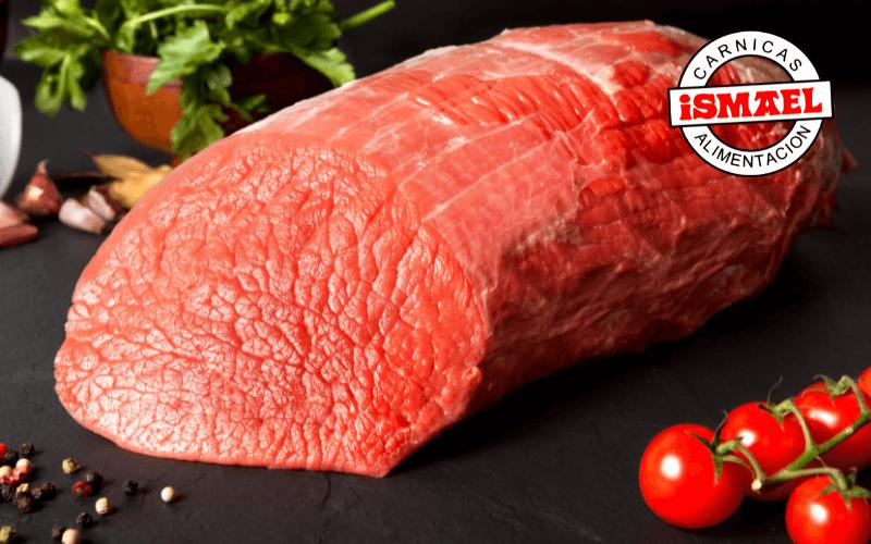 cortes de carne redondo de ternera