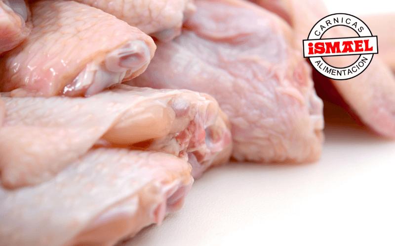 espoleta de pollo cortes de carne