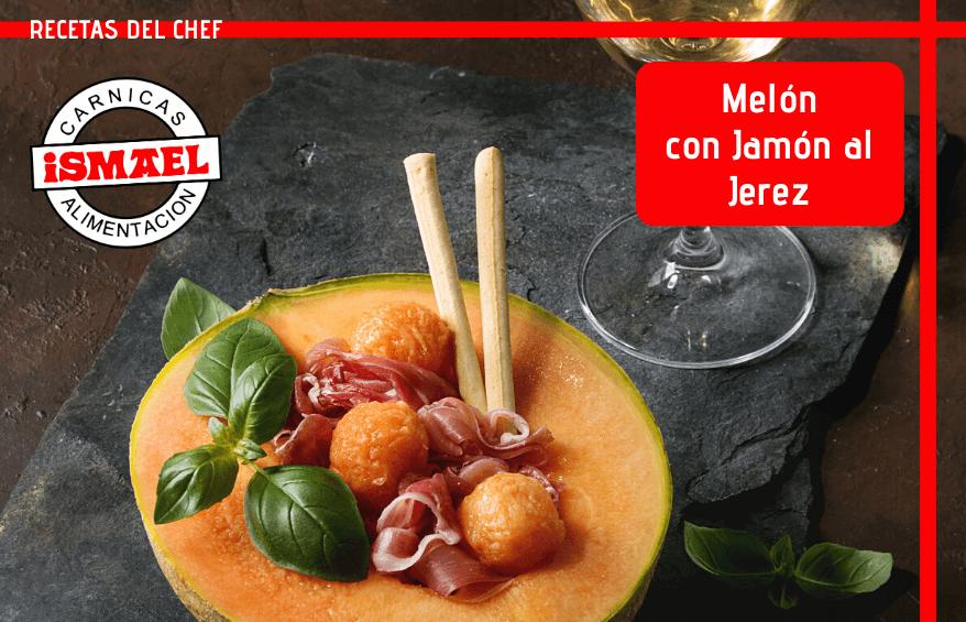 receta de Melón con Jamón al Jerez