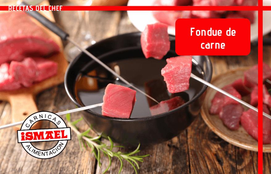 receta Fondue de carne para una comida especial